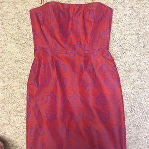 J. Crew strapless dress with pockets!